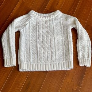 Girls Chunky Sweater